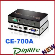 Aten USB KVM VGA Console Extender 1920x1200 150m Max Surge Protection CE-700A