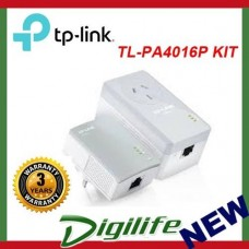 TP-LINK TL-PA4016PKIT AV500 Powerline Adapter Passthrough Starter Kit