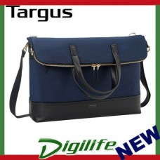 "Targus 15"" Newport Convertible 2-in-1 Tote/Messenger Bag - Navy TST59801"