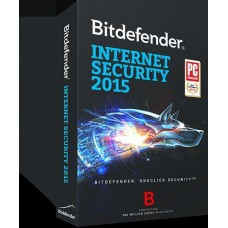 Bitdefender Internet Security 2015 FULL RETAIL AntiVirus 3 user 1year