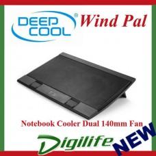 DeepCool Black Wind Pal Notebook Cooler 2 x 140mm Fan windpal