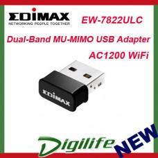 Edimax EW-7822ULC AC1200 Dual-Band MU-MIMO USB Wi-Fi Adapter