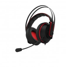 ASUS Cerberus V2 Gaming Headset with 53mm Asus Essence Drivers - Red Color