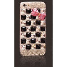 Fashionable phone Case for IPHONE 5 / 5S Black&PInk