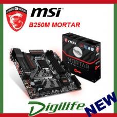 MSI B250M MORTAR LGA 1151 Micro-ATX Motherboard