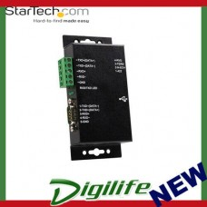 STARTECH 1 Port Metal Industrial USB to RS422/RS485 Serial Adapter w/ Isolation