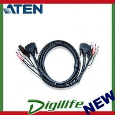 Aten 5m DVI KVM Cable with Audio to suit CS178x, CS178xA, CS164x, CS176xA