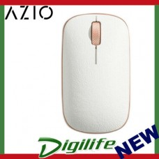 AZIO RETRO CLASSIC Vintage Bluetooth & RF Wireless Mouse - Leather Trim POSH