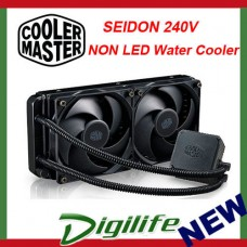 Cooler Master Seidon 240V NON LED 240mm AIO Liquid CPU Water Cooler coolermaster
