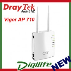 Draytek Vigor AP 710 802.11n Access Point 4xSSID, WDS, 2Yrs Wty DAP710