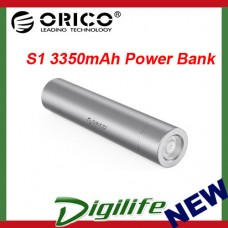 ORICO S1-BK Mini 3350mAh Power Bank Aluminum Alloy USB