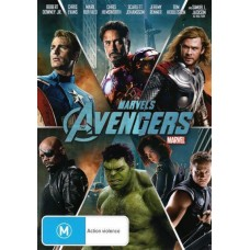 NEW Marvel's Avengers 2012 Movie R4 DVD