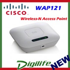 Cisco WAP121 Wireless-N Access Point with Single Point Setup AP