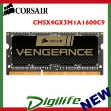 Corsair Vengeance 4GB (1x 4GB) DDR3 1600MHz SODIMM Memory CMSX4GX3M1A1600C9