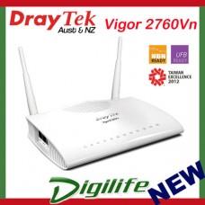 Draytek Vigor 2760Vn VDSL2 Firewall Router 4XGBIT/2XVPN/VOIP/3G/4GIPV6 DV2760Vn