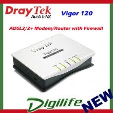 DrayTek Vigor 120 ADSL2/ADSL2+ Modem Router with Firewall DV120
