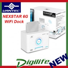 "VANTEC NEXSTAR 6G 2.5"" 3.5"" WIFI HDD Docking Station USB3.0 NST-D306WS3"
