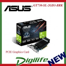 ASUS GT730-SL-2GD3-BRK NVIDIA GeForce GT 730 PCIE Graphics Card [90YV06P0-M0NA00