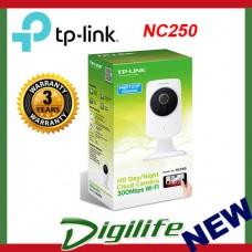 TP-LINK NC250 720P Day & Night Wi-Fi Cloud N300 HD Night Vision Camera