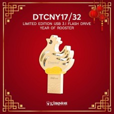 Kingston 32GB CNY 2017 Limited Edition Year of the Rooster USB 3.1 Drive