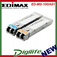 Edimax SFP+ 10G 1310nm 10KM Single-Mode, LR ED-MG-10GAS1