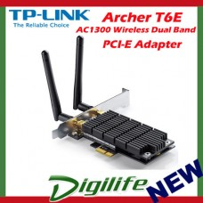 TP-LINK Archer T6E AC1300 Wireless Dual Band PCI Express Adapter PCI-E