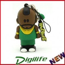 Cirkuit Planet DSY PD572-8 Tee Bone 3D 8GB Memory Stick USB 2.0 Flash Drive
