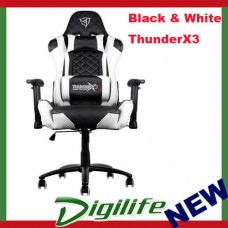 AEROCOOL ThunderX3 TGC12 Series Gaming Chair - Black/white