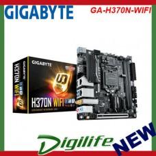 Gigabyte H370N WIFI LGA1151 8Gen mini ITX MB 2xDDR4 1xPCIe HDMI