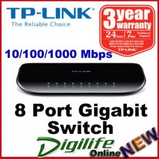TP-Link TL-SG1008D 8 Ports Gigabit Desktop Switch 10/100/1000 Mbps