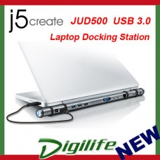 j5create JUD500 USB 3.0 Laptop Ultra Station(Windows/Mac/Android) docking