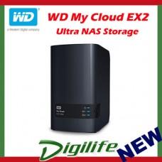 Western Digital WD My Cloud EX2 Ultra 8TB 2-Bay NAS Personal Cloud Storage