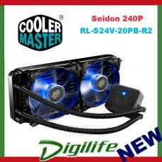 Cooler Master Seidon 240P 240mm LED AIO Liquid CPU Cooler coolermaster