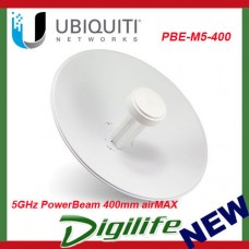 Ubiquiti 5GHz PowerBeam 400mm airMAX Bridge PBE-M5-400 Directional Antenna