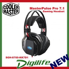 Cooler Master MasterPulse Pro 7.1 Over-Ear Gaming Headset with BFX