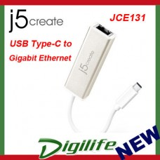 j5create JCE131 USB Type-C to Gigabit Ethernet Network Adapter LAN