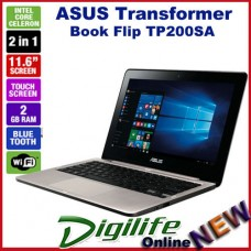 "ASUS Transformer Book Flip TP200SA 11.6"" Touch LED N3050 2GB RAM 32GB eMMC Win10"