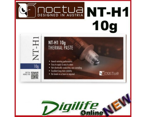 Noctua NT-H1 10g Thermal Compound for CPU heatsink Thermal Grease, Retail Box