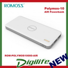 ROMOSS Polymos-10 AIR Power Bank 10000mAh Li-Polymer w/ Synchronous Charging