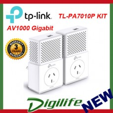 TP-Link TL-PA7010PKIT AV1000 Gigabit Passthrough Powerline Starter Kit