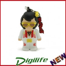 Cirkuit Planet PD1508-8 The King 3D 8GB Memory Stick USB 2.0 Flash Drive