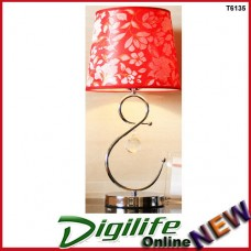 Modern Elegant and Fashionable Bedside and Living room Table Lamp Red T6135