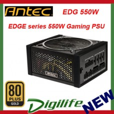 Antec EDGE 550W 80Plus Gold Modular Gaming Power Supply EDG 550W
