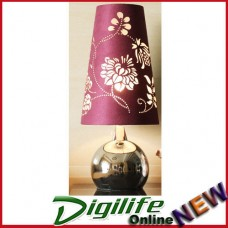 Modern Elegant and Fashionable Bedside / Living room Table Lamp Purple T6025