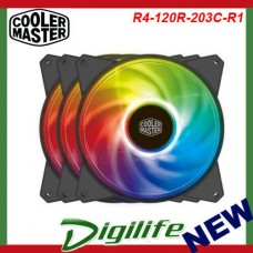 Cooler Master 3x MF120 Addressable RGB Fan + 1x Controller Kit R4-120R-203C-R1