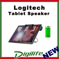 Logitech Tablet Clip On Speaker for iPad Rechargeable batteries