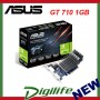 ASUS NVIDIA GeForce GT710 1GB Silent PCIE Low Profile GT 710 VGA/HDMI/DVI
