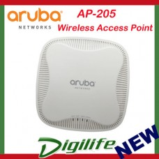 Aruba AP-205 Wireless Access Point, 802.11n/ac dual radio integrated antennas AP