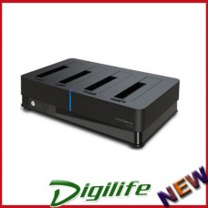 Hotway 4 Bay HDD Docking Station USB 3.0 e-SATA Storage
