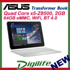 "ASUS T100HA Transformer Book 10.1"" Touch Qaud Core x5-Z8500 2GB 64GB WIFI Win10"